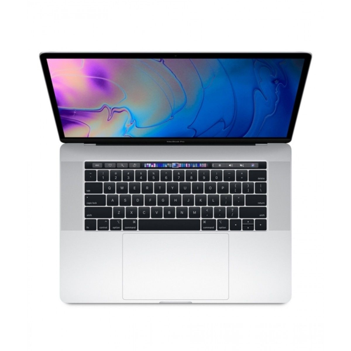 """Apple Macbook Pro 15"""" Core i9 With Touch Bar Silver (MV932)"""