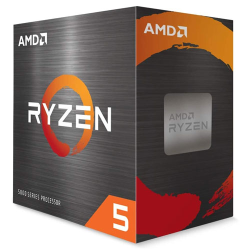 Ryzen 5 AMD 5600X 6-core 12-Thread Processor with Wraith Stealth Cooler