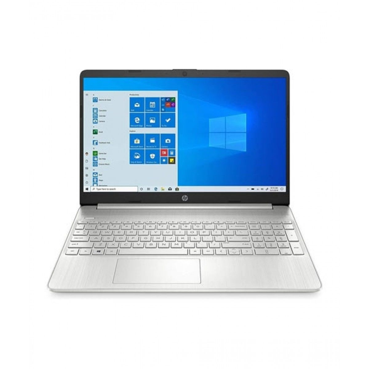 """HP 15.6"""" Core i7 10th Gen 12GB 256GB Laptop Silver (15-DY1079MS) - Without Warranty"""